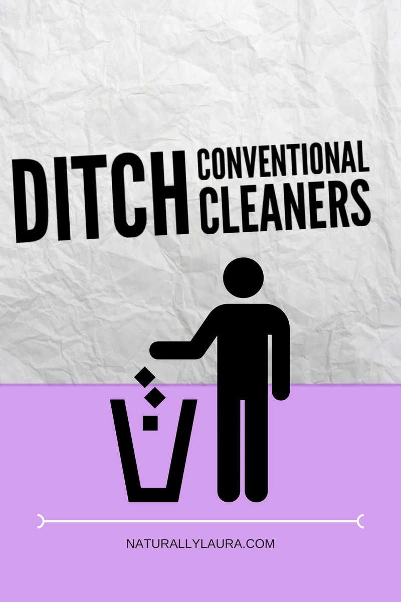 Ditch Conventional Cleaners