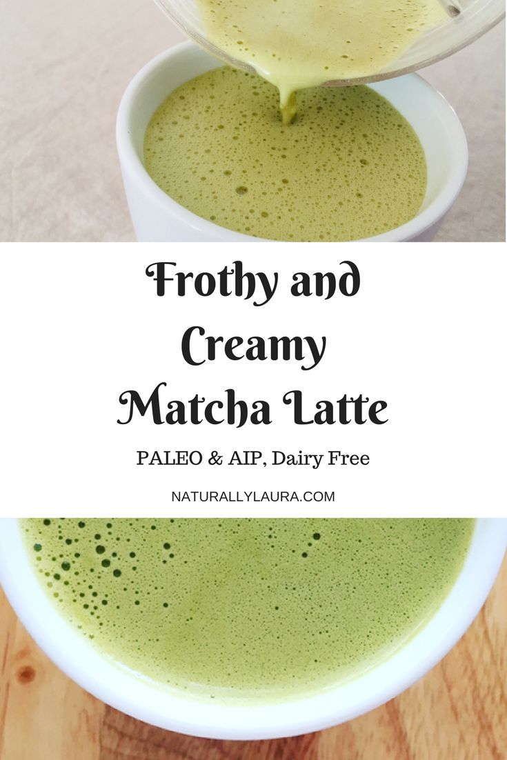 Frothy and Creamy Matcha Latte